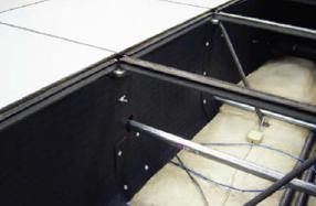 Data Center Under-Floor Baffles