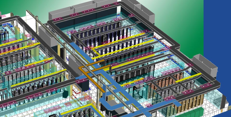 CEG - Digital Twin CFD Modeling Data Center
