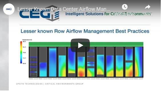 CEG Data Center Airflow Managment