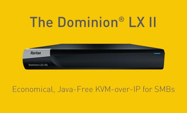 Raritan Dominion LX II KVM-over-IP